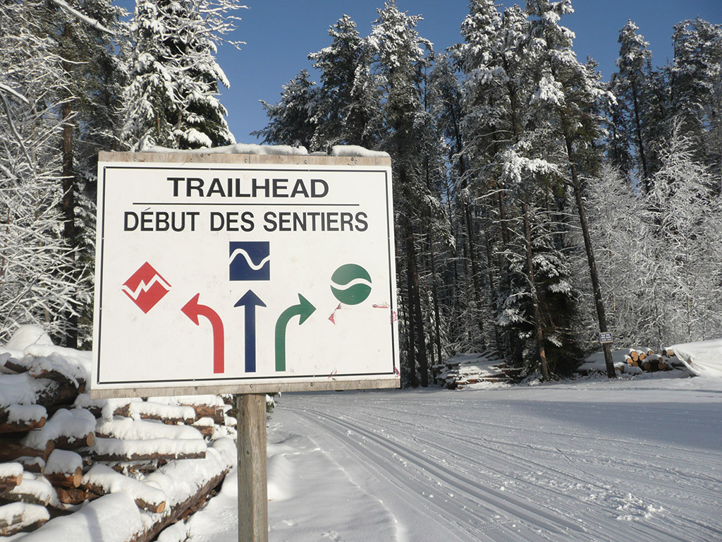 Temiskaming Nordic - Skiiing in Northern Ontario - The Trail System Difference